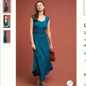 Anthropologie Guinevere Maxi Dress NWOT